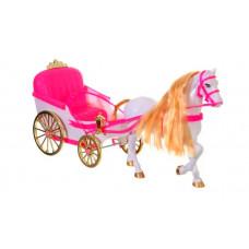 Карета с лошадью ходяч без куклы